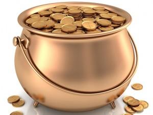 """""""A Pot of gold coins"""""""