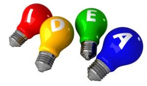 """ideas through brainstorming"""