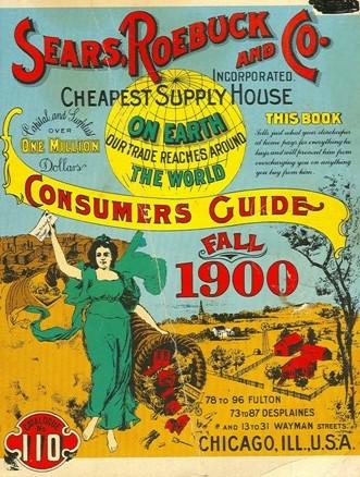 """""""Vintage Sears Catalog"""""""