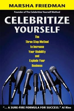 """Celebritize yourself Book Cover"""