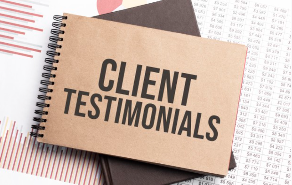 """""""How and where to use client testimonials"""""""